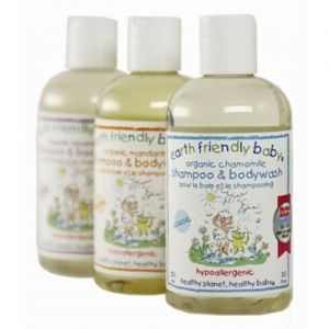Earth friendly shampoo and bodywash